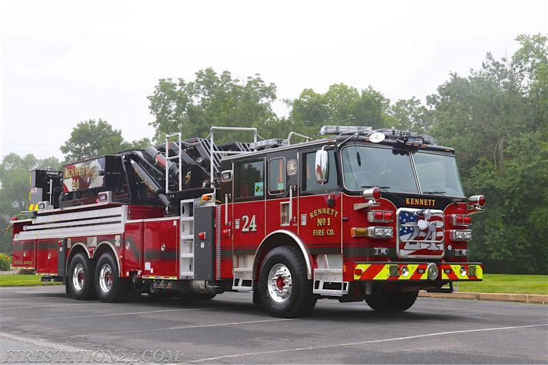 Kennett Fire Company No 1 Kennett Square Pa Station 24