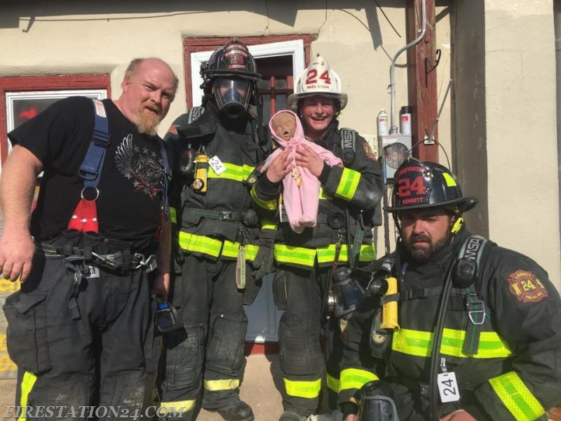 Successful rescue of a baby